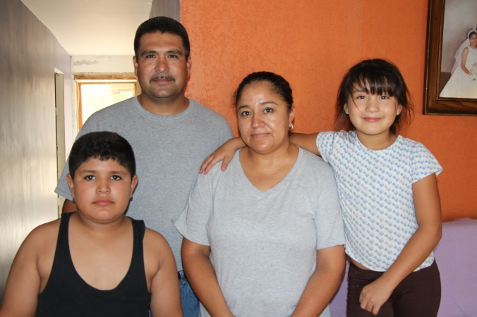 Pastor Oscar lives with his family in Tecate